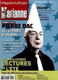 Magazine litteraire mariane ete 2013