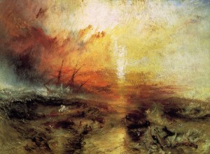 The slave ship, de William Turner