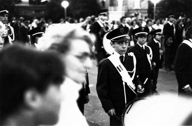 musicien à Bagnoles 1978